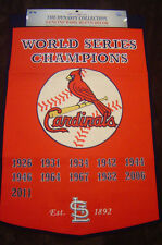 ST. LOUIS CARDINALS  DYNASTY BANNER with 2011 Year