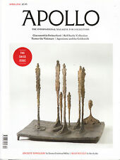 APOLLO Art Magazine APRIL 2011 SWISS ISSUE Giacometti ROLF SACHS COLLECTION @NEW
