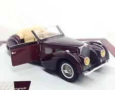 CHROMES 051 - Bugatti T57SC Atalante Cabriolet Gangloff 1937 sn57533  1/43