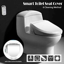 Smart Toilet Seat Electric Bidet Cover Remote Controller Instant Heating Clean