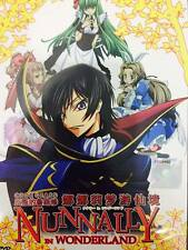 DVD Code Geass : Nunnally In Wonderland ( English SUB ) + Free Shipping