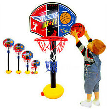 Kids Sports Basketball Hoop Net Toy Set Stand Ball Pump Toddler Baby Gift Hot