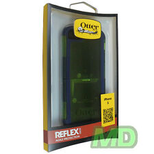 NEW OEM OtterBox Radiat Green Reflex Case for iPhone 5 5S SE w Screen Protector