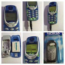 CELLULARE 3310 GSM BLU TRASPARENTE  UNLOCKED SIM FREE DEBLOQUE