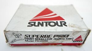 Suntour Superbe Pro Clamp On Front Derailleur for Road Bike, Vintage, FD-2000