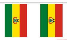 BOLIVIA 9 METRE BUNTING 30 FLAGS flag BOLIVIAN LA PAZ