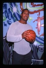 Dwayne Johnson The Rock with basketball 2001 Original 35mm Transparency
