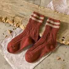 5Pairs Women Cotton Socks Thick Autumn Warm Fashion Striped Design Socks LG