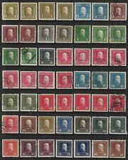 Austria 1915 Emperor Franz Josef K.U.K. Feldpost Part Set Fine Mint & Used