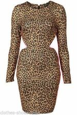 Topshop Long Sleeve Stretch Dresses for Women