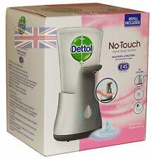 Dettol No Touch lavaggio a mano MACCHINA sistema include RICARICA E45