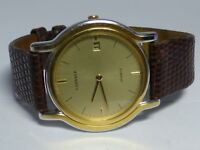 MEN'S LASSALE QUARTZ WATCH BY SEIKO W/ DATE  WORKING 5L14-6A19