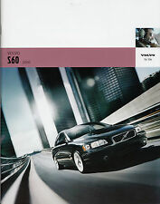 2006 VOLVO S60 Promotional Catalog Brochure in Good Condition