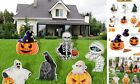 6 Pack Halloween Yard Signs,Halloween Outdoor Decorations Yard Signs with
