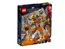 Lego 76128 Marvel Spider-Man Far From Home Molten Man Battle, used