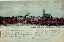 Mondschein Ansichtskarten vor 1914 aus Schlesien