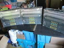 THREE (3) SNK NEO-GEO AES CONSOLE EMPTY BOXES ONLY - No Consoles - See Photos