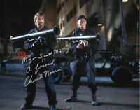 CHUCK NORRIS 'The Delta Force' Signed Autographed 11x14 Photo I