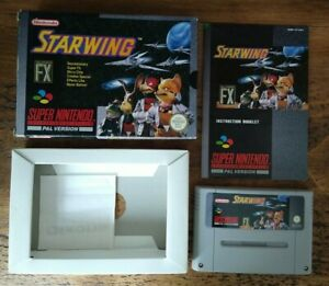StarFox - Super Nintendo - SNES - Boxed with manual - PAL version.