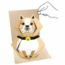 3D Pop Up Animal Greeting card -  Bull Dog