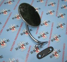 1939-1947 Buick Outside Rear View Mirror. L.H. King Bee. Show Quality