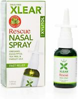 XLEAR Rescue Nasal Spray with Xylitol, 1.5 Oz