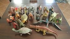 Jurassic World/Jurassic Park Lot Of 22 Different Dinosaurs Sounds Action Nice!