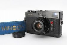 TOP MINT Minolta CLE Rangefinder Body w/M-Rokkor 40mm f2 Lens from Japan a753