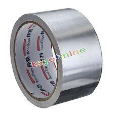 Roll Silver Aluminium Foil Adhesive Sealing Tape Heating Duct Repairs 48MM x 17M
