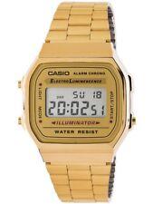 Reloj mujer Casio a168wg-9ef dorado