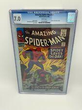 Spiderman #40 - CGC 7.0 - Origin Green Goblin - Marvel Comics