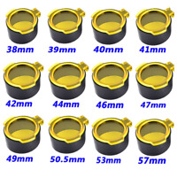 Hunting Flip Up Open Quick Spring Protector Lens Cap Yellow Open Scope Cover New