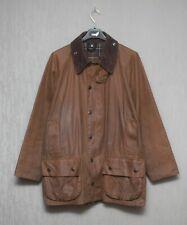 Barbour Men`s Waxed Classic Moorland Tartan Coat Jacket Size C42 / 107cm