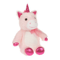 "Way To Celebrate Valentine's Day or Everyday Baby Shower 12"" Pink Unicorn Plush"