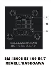 Montex Mini Mask 1:48 Bf-109 E-4 / E-7 for Revell Kit Spraying Stencil #SM48008