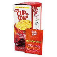 22 Pouches Lipton Cup A Soup Instant Soup Mix Microwave Chicken Noodle FREE SHIP