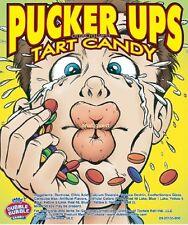 Pucker Up Sour 3lb Tangy Bites Candy Bulk Dubble Bubble Sweet Tart Vending Ups