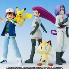 Pokemon S.H.Figuarts Ash Ketchum & Team Rocket Limited Edition Action Figures