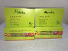 2x Melvita Young Skin Purifying Roll On Targeted Action 0.17 Fl Oz In Box (Y51)