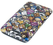 Hülle f HTC One X/X+ Plus/XL Schutzhülle Tasche Cover Hard Case Comic Emoticons