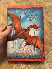 Black Powder War Naomi Novik Temeraire Book 3 Signed Numbered Limited Edition