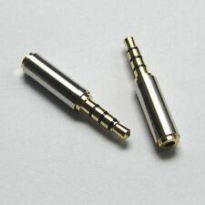 Audio Adaptateur fiche 3.5 mm Mâle 2.5 mm Femelle Tête de conversion image son