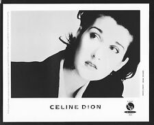 Vintage Original Ltd Edition Promo Photo 8x10 Celine Dione 1995 Near Mint