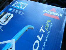 Bissell Bolt Pet 12V 2-in-1 Lightweight Cordless Vacuum Bossanova Blue IN BOX!