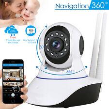 1080P Wireless Wifi Pet Baby Monitor Panoramic Night Vision Cloud IP CCTV Camera