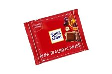 4x/8x Ritter Sport Rum Raisin Nuts 🍫 chocolate from Germany ✈ TRACKED SHIPPING