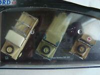 boxset of 3 land rover 109 series 3 NIB 1/72° oxford