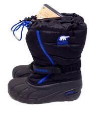 Sorel Boots Womens Flurry Black Waterproof Winter Snow Duck Shoes US 5 / 37 NWT