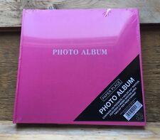Pretty Pink Multi Photo Album / nuovo con etichette / 100 vani / 6X4 dimensioni / con spazio MEMO