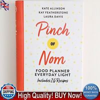Pinch of Nom Food Planner Everyday Light by Kay Featherstone Kate Allinson Book